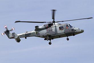 AgustaWestland AW159 Wildcat - Wildcat prototype ZZ401, 2011