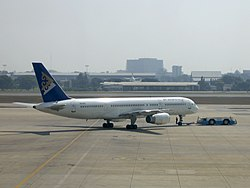 Air Astana Boeing 757-200 P4-GAS.jpg