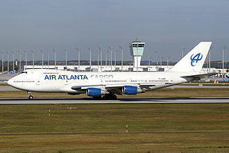 Air Atlanta Icelandic - A former  Air Atlanta Icelandic Boeing 747-200B(SF)