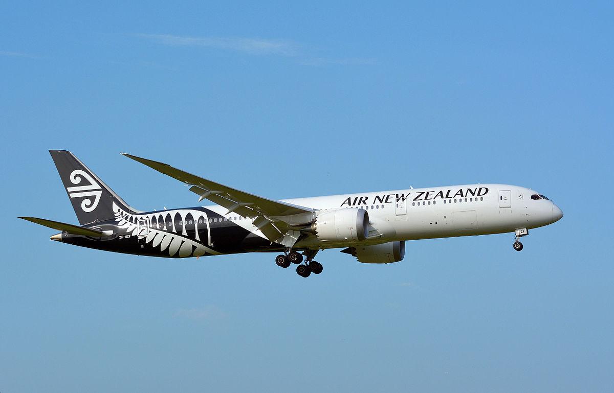 Teroris New Zealand Wikipedia: Air New Zealand