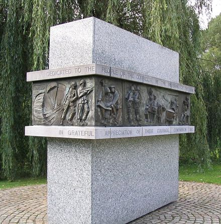 Monument for the Dutch at Sint-Oedenrode AirbornemonumentStOedenrode.jpg