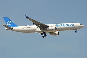 Air Europa - Airbus A330-300 with the airline's new livery