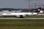Airbus A340-313X Lufthansa D-AIFD (9335245935).jpg