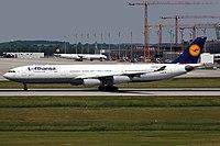D-AIFD - A343 - Lufthansa