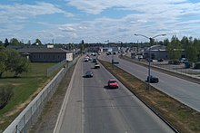 Airport Way Fairbanks Alaska Eastbound.jpg