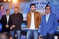 Ajay Maken, Prannoy Roy, Ranbir Kapoor at the NDTV Marks for Sports event 02.jpg