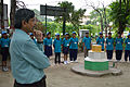 Ajoy Kumar Ray Delivers Inaugural Speech - Summer Camp - Nisana Foundation - Sibpur BE College Model High School - Howrah 2013-06-07 8684.JPG
