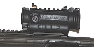 Aimpoint AB - Aimpoint on an AK4