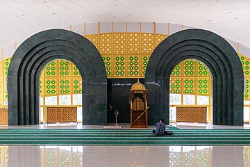 Al-Ikhlas Mosque of Lubuk Pakam, Deli Serdang Regency; January 2020 (01).jpg