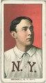 Al Bridwell, New York Giants, baseball card portrait LCCN2008676473.tif