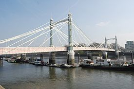 Albert Bridge, London, from the northwest.jpg