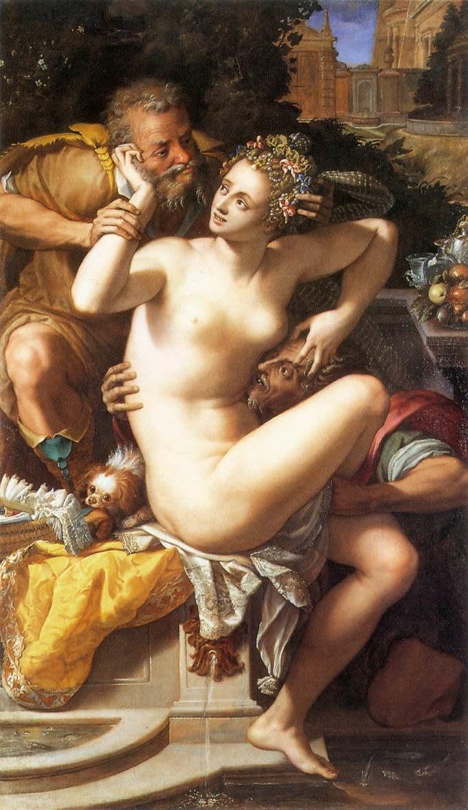 Alessandro Allori - Susanna and The Elders - WGA00186