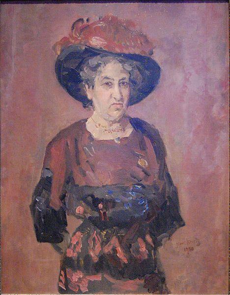 Aletta Jacobs, by Isaac Israëls