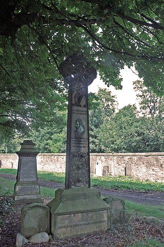 Alexander Smith (poet) - Alexander Smith's grave, Warriston Cemetery
