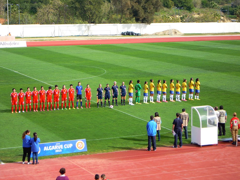 Algarve Cup Brazil V China 4 March 2015