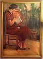 Algero cantini, giovane donna che lavora (mia sorella fiorenza), 1928.jpg