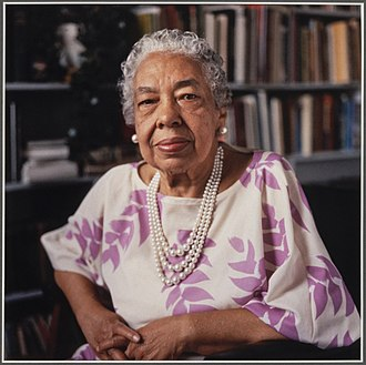 Alice Allison Dunnigan - Dunnigan at her interview for the Black Women Oral History Project