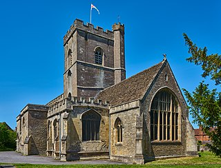 All Saints Church, Westbury Church in Wiltshire, England