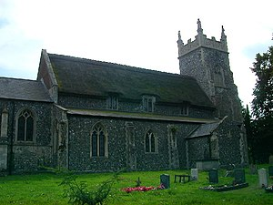 Beighton, Norfolk - Image: All Saints Church, Beighton geograph.org.uk 33840