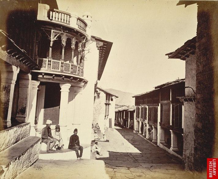 Almora Bazaar. c1860