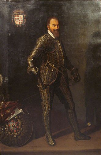 Wignacourt towers - Official portrait of Alof de Wignacourt