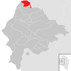 Altach - Image: Altach im Bezirk FK