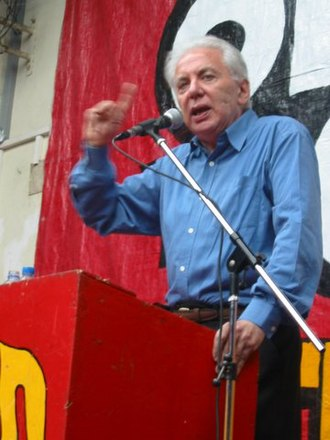 2011 Argentine general election - Jorge Altamira, of the Workers Left Front (FIT).