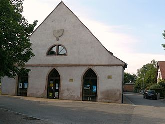 Altorf - Former tithe barn converted into a library