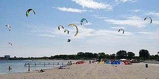 Amager Strandpark park in Copenhagen Municipality, Denmark