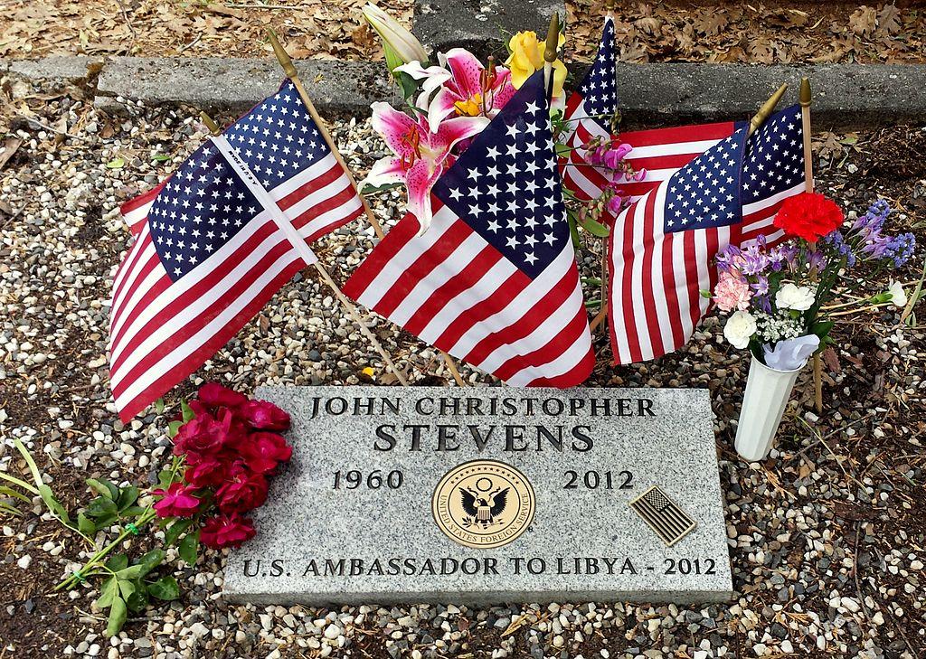 Ambassador J. Christopher Stevens, grave