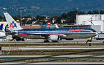 American Airlines Boeing 767 at LAX (22517412037).jpg