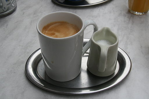 American Coffe with milk