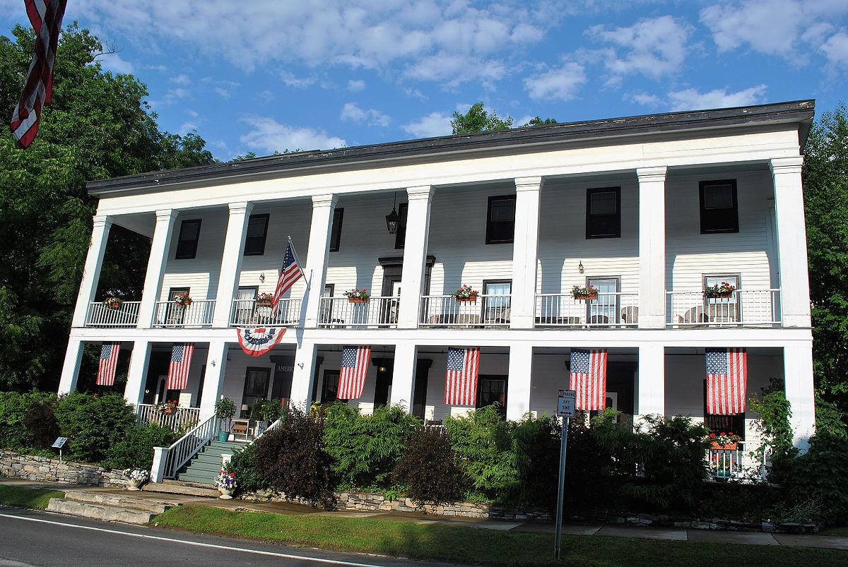 American Hotel Sharon Springs New York Wikipedia
