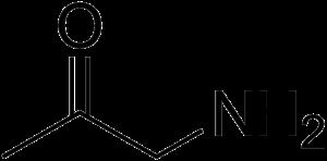 1-Amino-2-propanone - Image: Aminopropanone