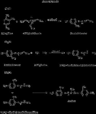 Amitraz - Figure 1; Amitraz Synthesis Route 1