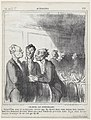 Among two bailiffs, from 'News of the day,' published in Le Charivari, March 11, 1865 MET DP877345.jpg