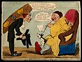 An undertaker visiting a sick man in the hope of gaining a n Wellcome V0011180.jpg