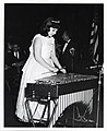 An unidentified girl plays a vibraphone (12305859303).jpg