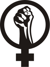 A female gender/venus symbol;
