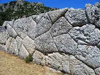Cassope - Ancient walls of Cassope