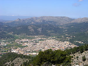 Andratx vist des de Garrafa