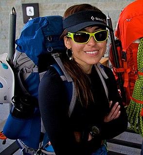 Andrea Cardona Mountain climber