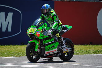Speed Up - Andrea Iannone on a Speed Up S10 motorcycle