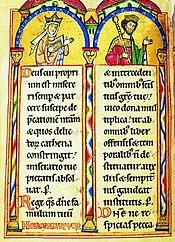 King Andrew II Rex Galiciae at Lodomerie with queen Gertrude von Andechs-Meranien
