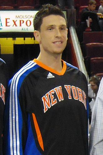 Andy Rautins - Rautins with the Knicks in 2010