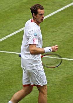 Andy Murray a 2012-es Wimbledonon