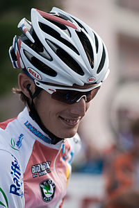 Andy Schleck, Mendrisio 2009 - Men Elite.jpg