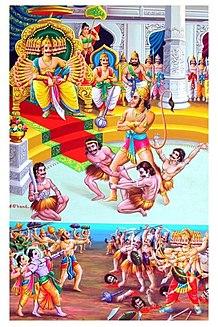 Angada Character of Ramayana son Vali and Tara