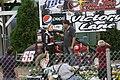 Angell Park 2013 USAC Midget heat winner Taylor Ferns.jpg