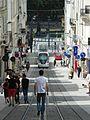 Angers - Tramway - Rue de la Roë (7663989232).jpg